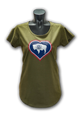 WYOMING FLAG HEART TEE