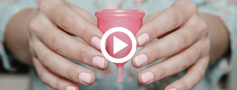 how to use lunette menstrual cup