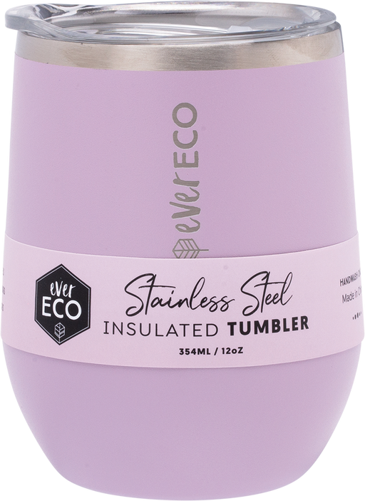 EVER ECO Insulated Tumbler Purple 354ml