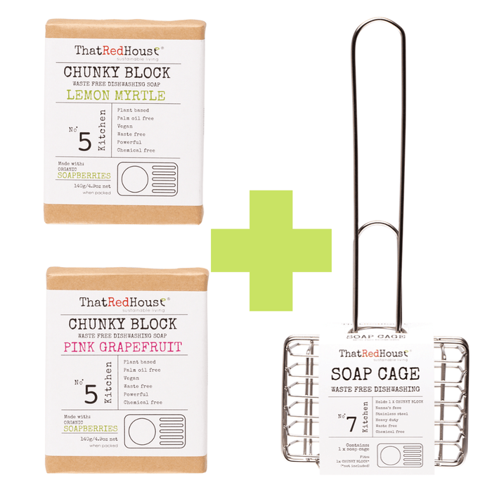 Soap Cage and Dish Block Bundle (3)
