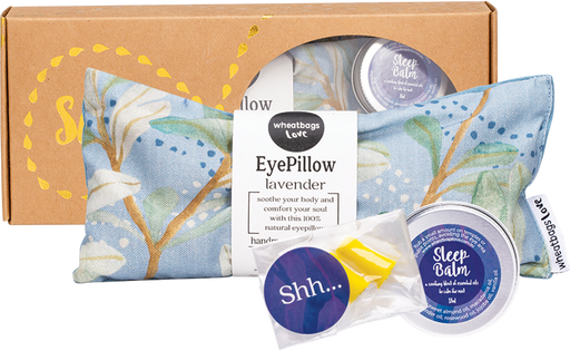 WHEATBAGS LOVE Sleep Gift Pack - Banksia Sky