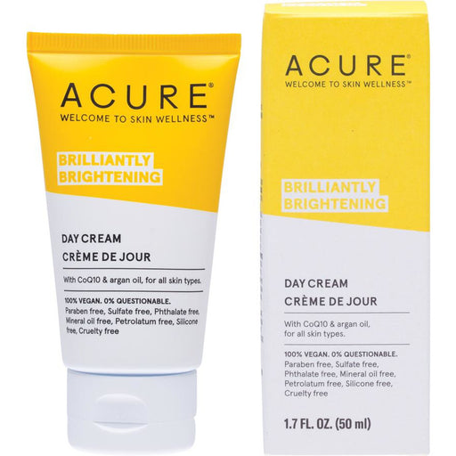 Acure Brilliantly Brightening Day Cream - 50ml - Hummingbird Sings