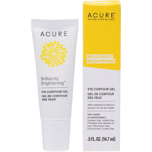 Acure Brilliantly Brightening Eye Contour Gel - 14.7ml - Hummingbird Sings