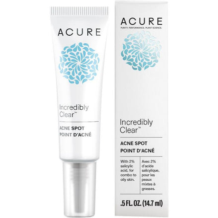 Acure Incredibly Clear Acne Spot - 14.7ml - Hummingbird Sings