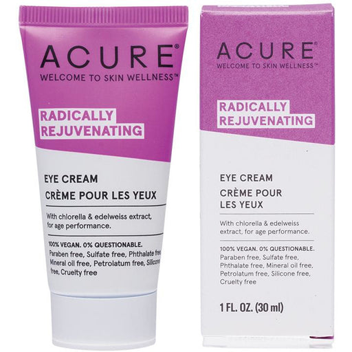 Acure Radically Rejuvenating Eye Cream - 30ml - Hummingbird Sings