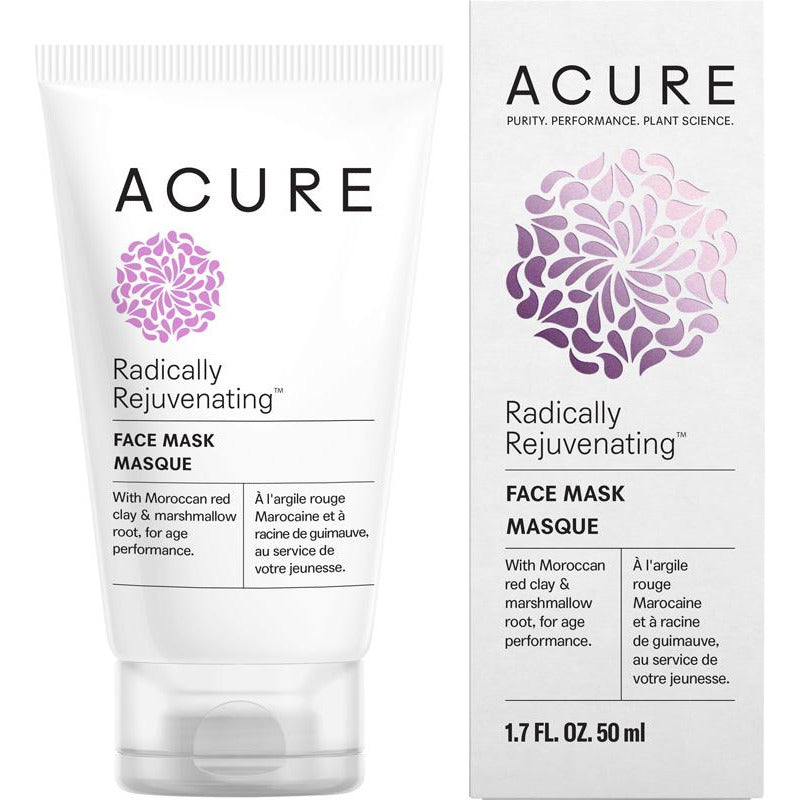 Acure Radically Rejuvenating Face Mask - 50ml - Hummingbird Sings