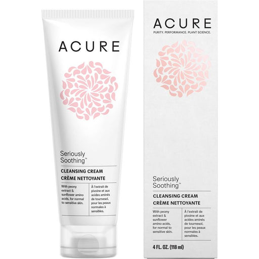 Acure Seriously Soothing Cleansing Cream - 118ml - Hummingbird Sings