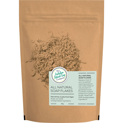 The Australian Natural Soap Company - All Natural Soap Flakes 300g