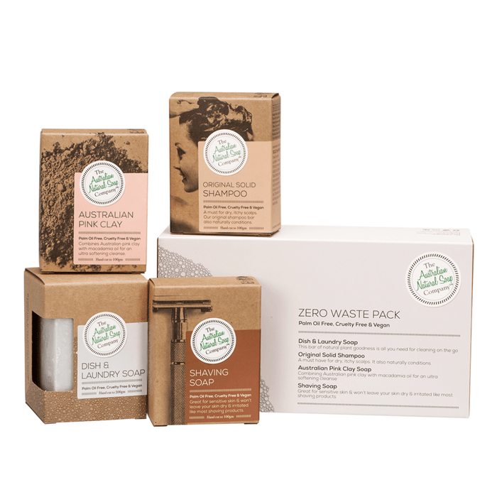 THE AUSTRALIAN NATURAL SOAP CO Zero Waste Pack