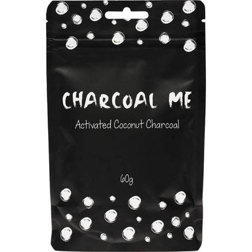 CHARCOAL ME Coconut Charcoal Powder Steam Activated 60g - Hummingbird Sings