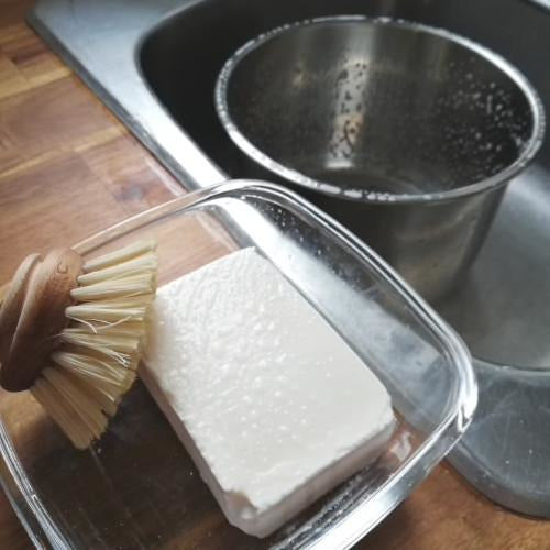 Zero Waste Dish Washing Block Bar 167g