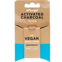 Dr Tungs Activated Charcoal vegan dental floss - Hummingbird Sings