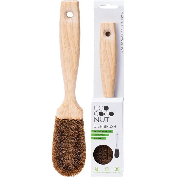 Ecococonut dish brush - Hummingbird Sings