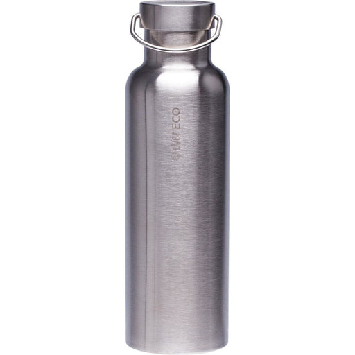 EVER ECO Stainless Steel Bottle Insulated - Brushed Stainless 750ml - Hummingbird Sings