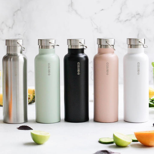 EVER ECO Stainless Steel Bottle Insulated - Brushed Stainless 750ml