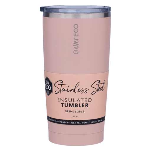 EVER ECO Insulated Tumbler - Rose 592ml