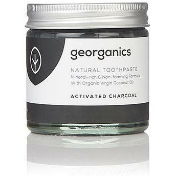 Georganics Natural Mineral-Rich Toothpaste - Activated Charcoal 60ml - Hummingbird Sings