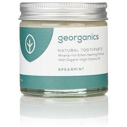 Georganics Natural Mineral-Rich Toothpaste - Spearmint 60ml - Hummingbird Sings