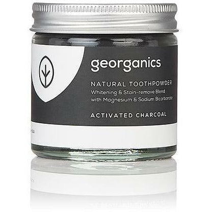 Georganics Natural Toothpowder - Charcoal 60ml - Hummingbird Sings