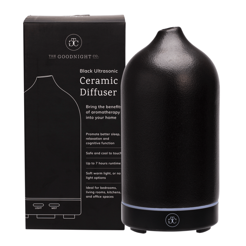 THE GOODNIGHT CO Ceramic Diffuser Black Ultrasonic