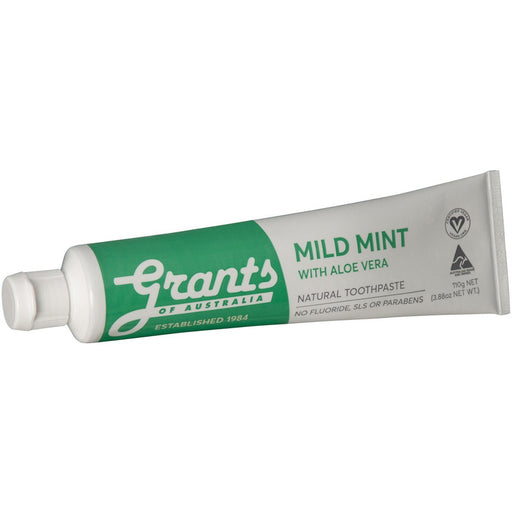 Grants Toothpaste - Mint Green - Hummingbird Sings