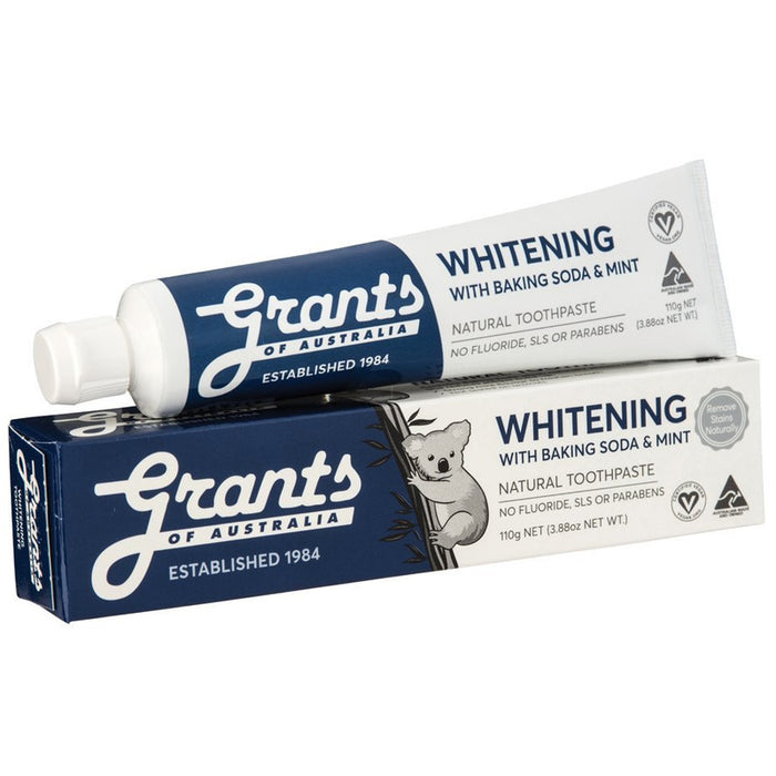 Grants - Natural Whitening Toothpaste (Flouride Free)