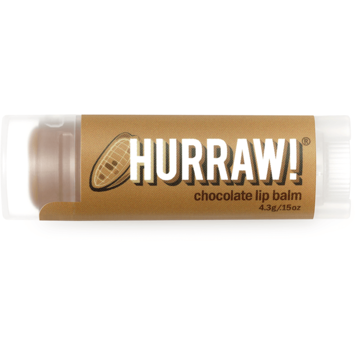 Hurraw Lip Balm Chocolate - Hummingbird Sings