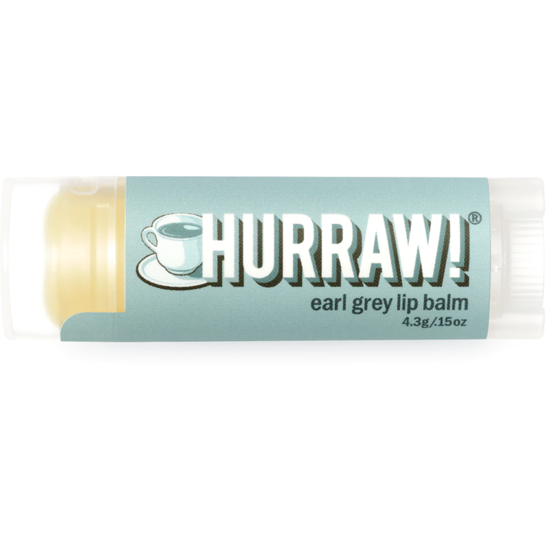 Hurraw Lip Balm Earl Grey - Hummingbird Sings