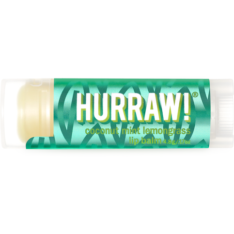 Hurraw Lip Balm Pitta Dosha - Coconut, Mint & Lemongrass