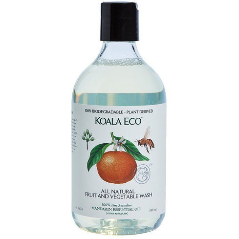 Koala Eco Fruit & Veg Wash 500ml - Hummingbird Sings