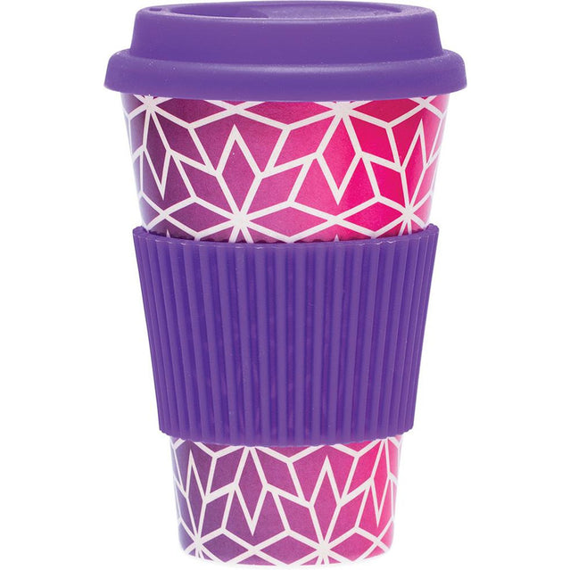 Luvin Life Bamboo Travel Cup - STARS - Hummingbird Sings