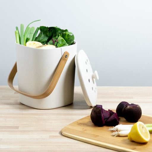 countertop composter bamboo dishwasher safe