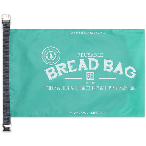 Onya Reusable Bread Bag - Aqua - Hummingbird Sings