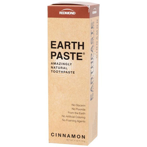 Redmond Earthpaste Toothpaste Cinnamon - Hummingbird Sings