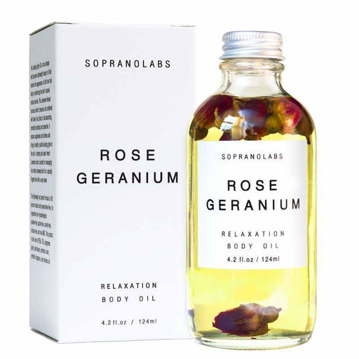SOPRANOLABS Rose Geranium Calming Body Oil
