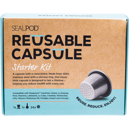 sealpod reusable coffee capsuals