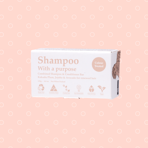 Shampoo With A Purpose - Shampoo Bar Colour Treated 135g