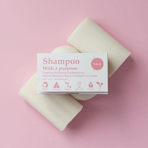 Shampoo With A Purpose - Shampoo Bar Volume 135g