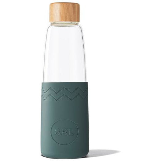 SoL Reusable Glass Bottle Deep Sea Green (850ml)