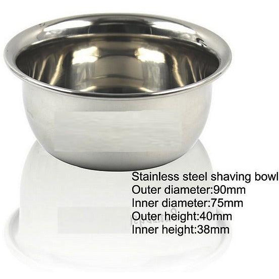 Stainless Shaving Bowl - Hummingbird Sings