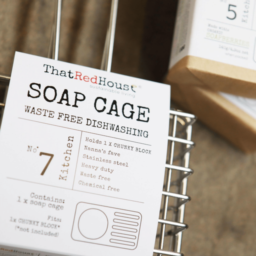 THAT RED HOUSE Soap Cage