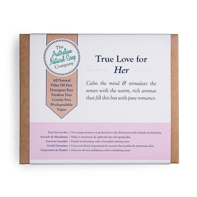 The Australian Natural Soap Company - Gift Pack For Her - Hummingbird Sings