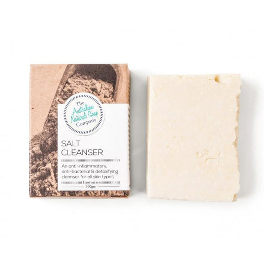 The Australian Natural Soap Company - Soap 100g  - Salt Cleanser - Hummingbird Sings