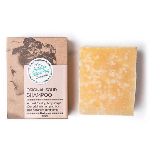 The Australian Natural Soap Company - Solid Shampoo 100g  - Original - Hummingbird Sings