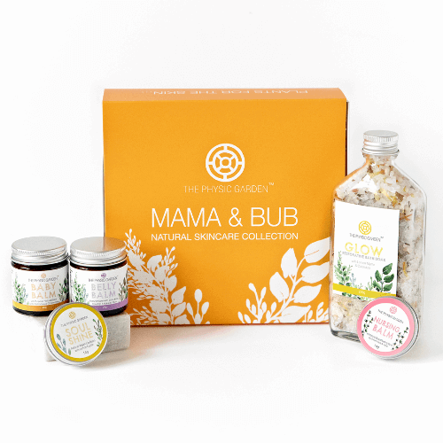 The Physic Garden Mama & Bub Natural Skincare Collection - Hummingbird Sings