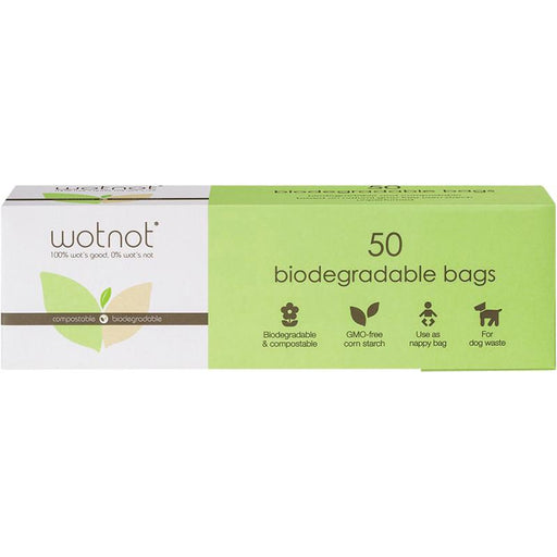 Wotnot Biodegradable Nappy Bags (x50) - Hummingbird Sings