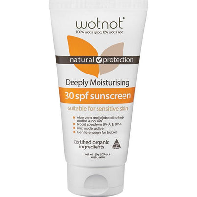 Wotnot Sunscreen Deeply Moisturising - SPF 30+ - Hummingbird Sings
