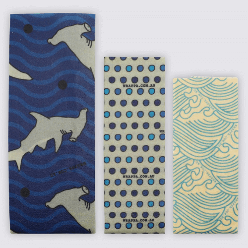 Wrappa Hammerhead Beeswax Wrap (3 Pack)