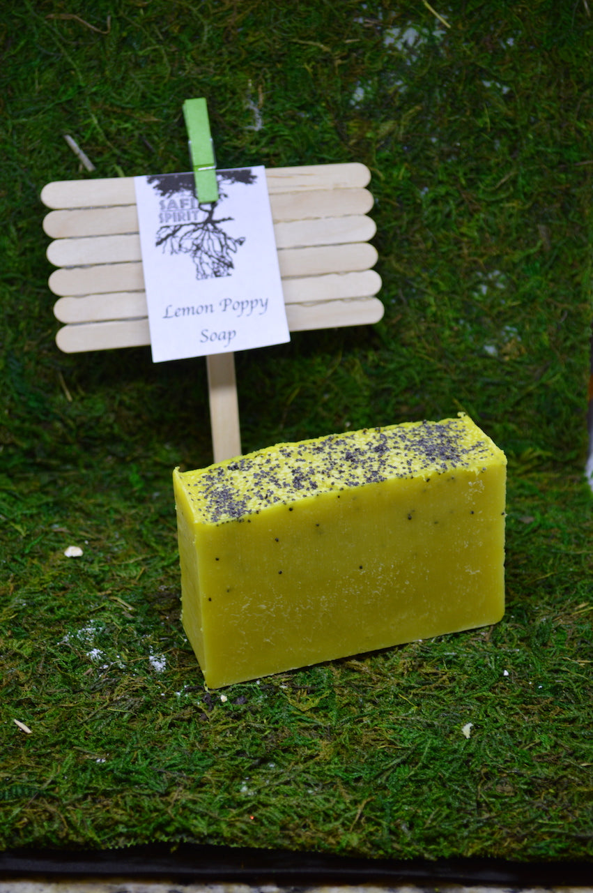 Lemon Poppy Soap
