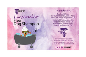 Lavender Flea Dog Shampoo